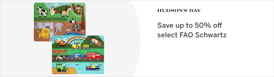 Save at Hudson's Bay with Coupons and Cash Back from Rakuten!