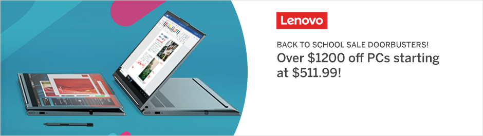 Save at Lenovo Canada with Coupons and Cash Back from Rakuten!