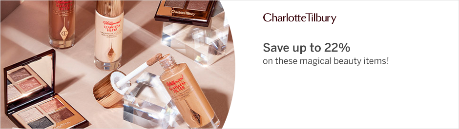Save at Charlotte Tilbury with Coupons and Cash Back from Rakuten!