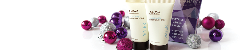 Earn #rewardDisplaySmall($store) Cash Back from Rakuten.ca with AHAVA Coupons, Promo Codes
