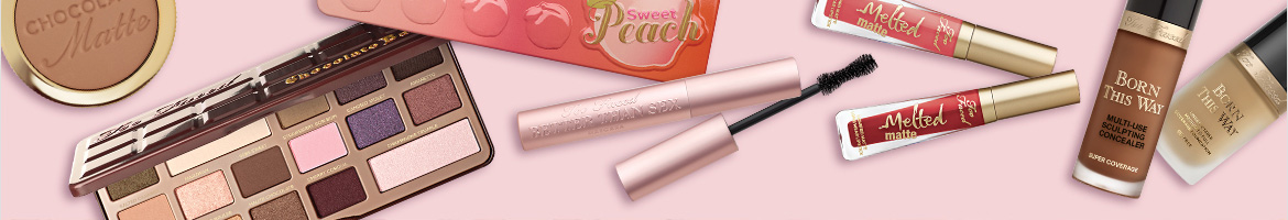 Earn #rewardDisplaySmall($store) Cash Back from Rakuten.ca with Too Faced Cosmetics Coupons, Promo Codes